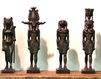Custom Bronze Replicas of Egyptian Gods and Goddesses