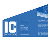 Ice Hair Design Brochure