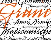 KTF Arcana typeface