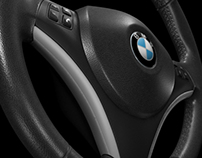 BMW 1 SERIES STEERING WHEEL MAYA MODEL