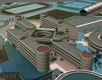 TEC de Monterrey Campus Map