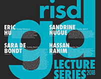 RISD GD Lecture Series Poster