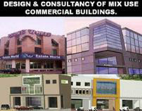 DESIGN & CONSULTANCY OF MIX USE COMMERCIAL BUILDINGS.