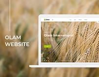 OLAM. Website
