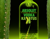 Absolut Vodka Kaktus