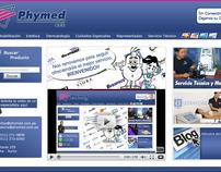 Site Phymed Catálogo