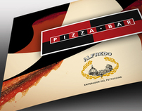 alfredo pizza bar - menu