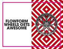 FlowForm by HRE Wheels Branding, Print & Packaging