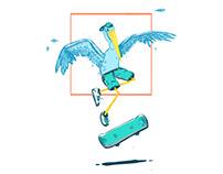 Crane Skateboard