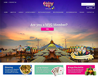 Carnival City Homepage Concept