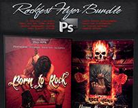 Rockfest Flyer Bundle Vol.3