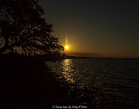 Fort Morgan Peninsula Sunset
