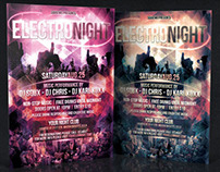 Electro Night Flyer