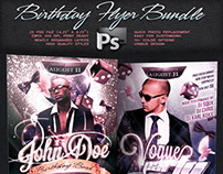 Birthday Flyer Bundle Vol.5