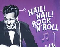 Hail Hail Rock and Roll - 100 x 73 cm.