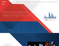 EME MEDIA Landingpage
