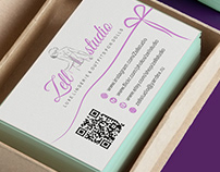 Лого и визитка для Zellstudio