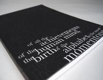 Typographic Compendium
