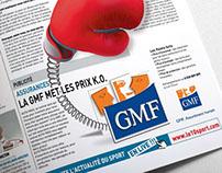 La GMF met les prix K.O. !