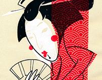 Serigrafia - Yakusha-e