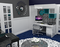 07/2017 Interior Design And 3D Modeling Music Room