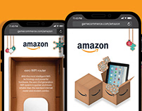 UX-UI Mobile game for amazon