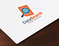 Data Search Logo Template