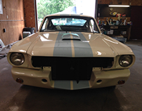 66 Shelby GT350 Clone