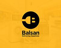 Balsan Logo Design