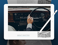 Masttro Wealth Management Web Design