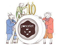 Illustration Poncelet´s 10º Anniversary