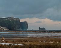Dyrhólaey in Southern Iceland /