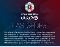 Sedes Copa América 2015