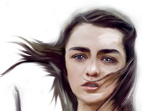 Arya fan art