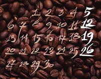 Calligraphy for a calendar (2005)