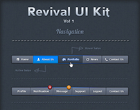 Reviavl UI Kit (Vol 1)