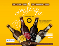 Visual design for Complicata craft beer brewery