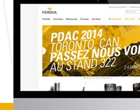 FORDIA | Web design