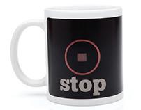 Stop Play mug