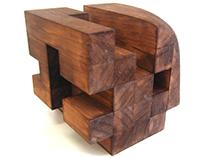 Wooden Cube Deconstruction