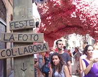 Fiestas de Gracia 2012 - the festive vs. the political