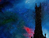 Galaxy paintings (Lord of the rings & Star Wars)
