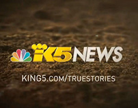 King5 True Stories Anchor Spot Motion Graphics