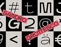 Sandro Grottesco Typeface