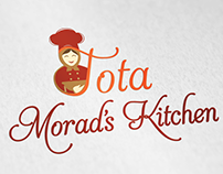 Tota morad's kitchen logo
