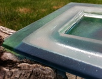 Square Glass Dish