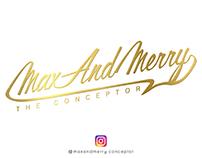Maxandmerry's Logo Concept