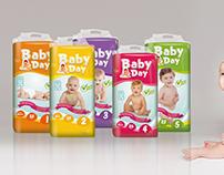 Baby Day Bebek BeziAmbalaj Tasarımı