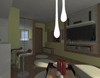 Studio apartment-Jovana Cvijica