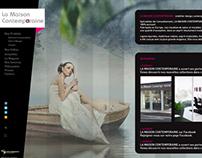 Web Interface & design for a furniture shop